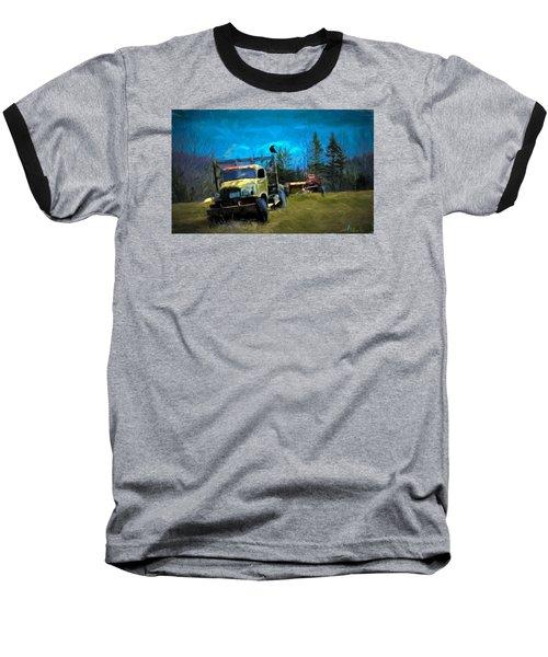 Old Friend Baseball T-Shirt by John Selmer Sr