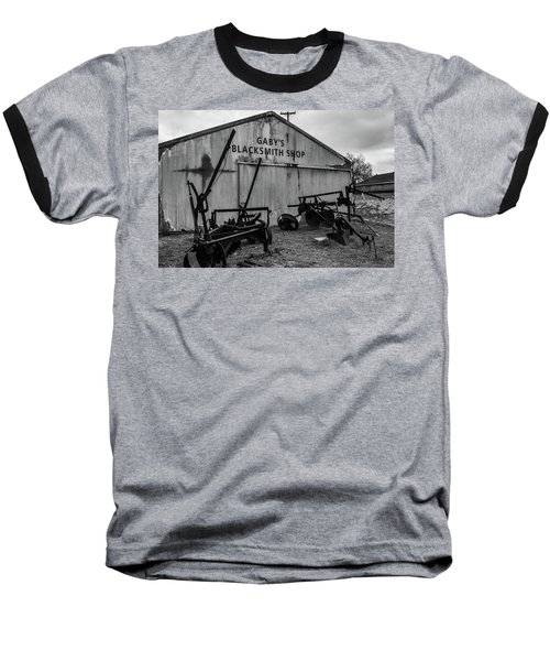 Old Frisco Blacksmith Shop Baseball T-Shirt