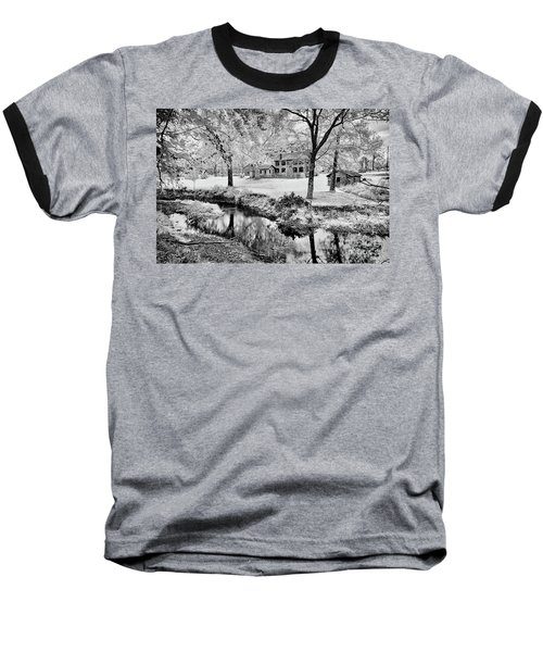 Baseball T-Shirt featuring the photograph Old Frontier House by Paul W Faust - Impressions of Light