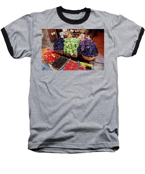 Old Fruit Store Baseball T-Shirt