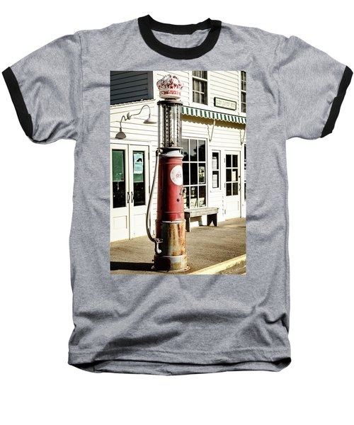 Baseball T-Shirt featuring the photograph Old Fuel Pump by Alexey Stiop