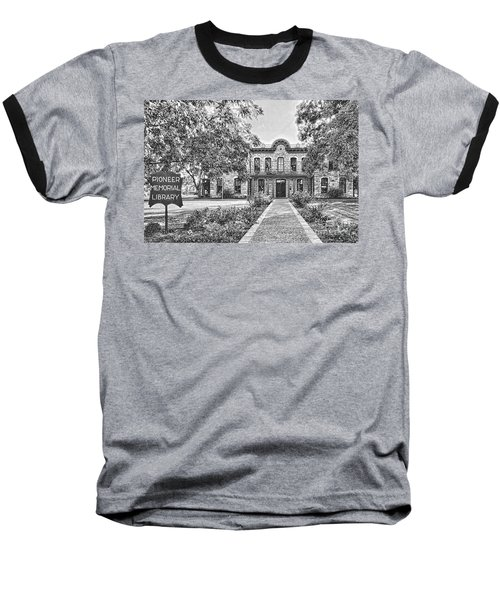 Old Gillespie County Courthouse Baseball T-Shirt