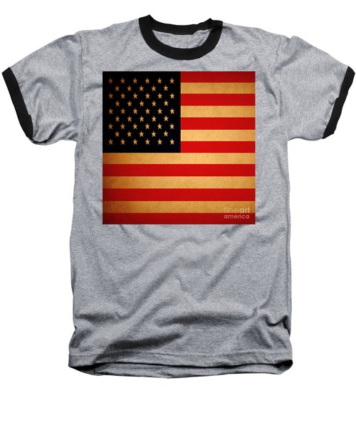 Old Glory . Square Baseball T-Shirt