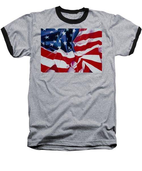 Old Glory  1 Baseball T-Shirt