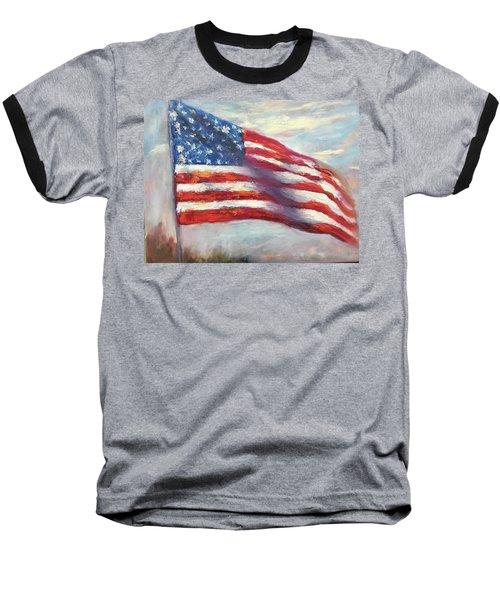 Old Glory Vi Baseball T-Shirt