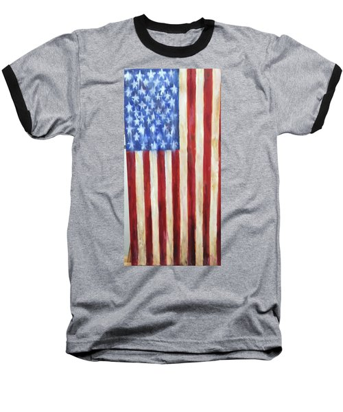 Old Glory Vii Baseball T-Shirt