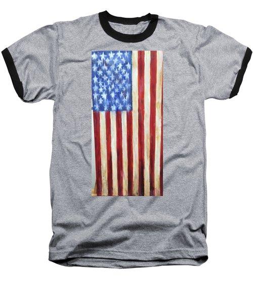 Old Glory Vii Baseball T-Shirt