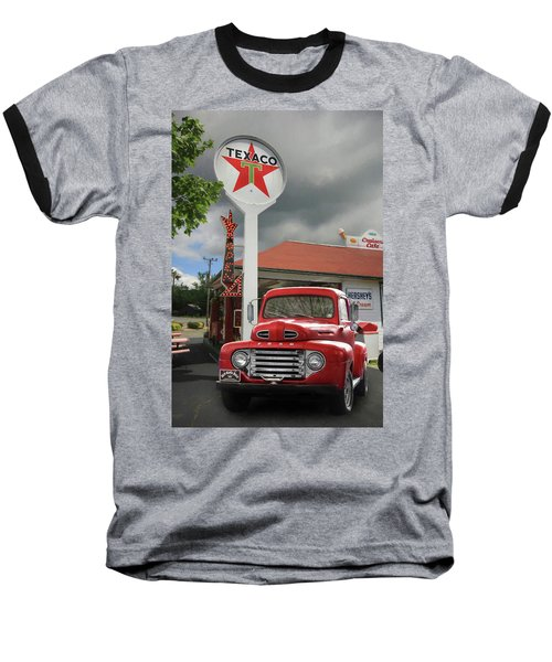 Baseball T-Shirt featuring the photograph Old Guys Rule by Lori Deiter