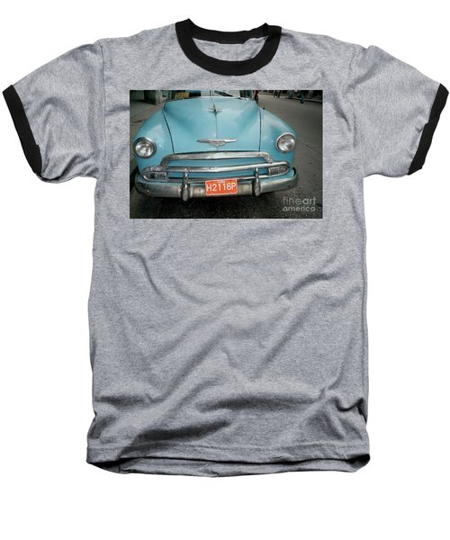 Old Havana Cab Baseball T-Shirt
