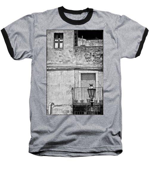 Old House In Taormina Sicily Baseball T-Shirt by Silvia Ganora