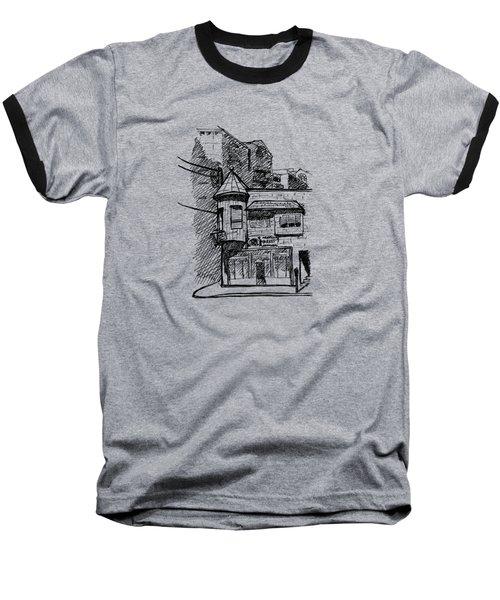 Old House Baseball T-Shirt
