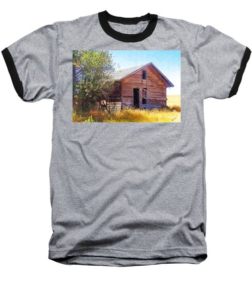Baseball T-Shirt featuring the photograph Old House by Susan Kinney