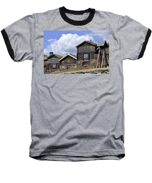 Old Houses In Roeros Baseball T-Shirt