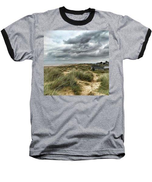 Old Hunstanton Beach, North #norfolk Baseball T-Shirt