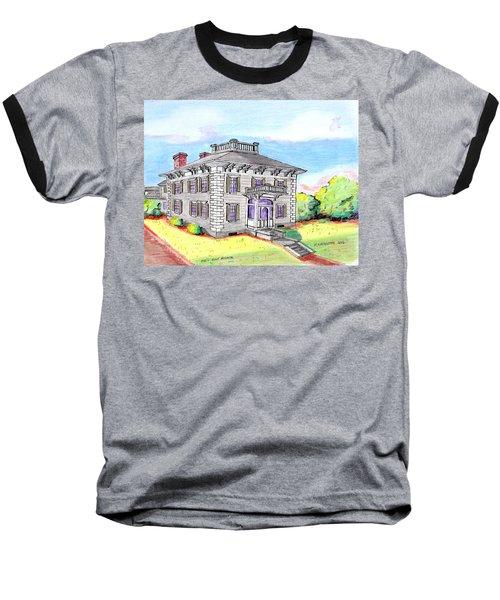 Old Hunt Hospital Baseball T-Shirt by Paul Meinerth