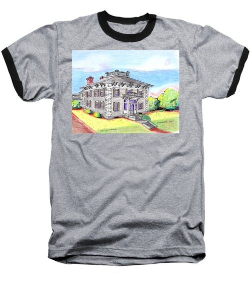 Old Hunt Hospital Baseball T-Shirt