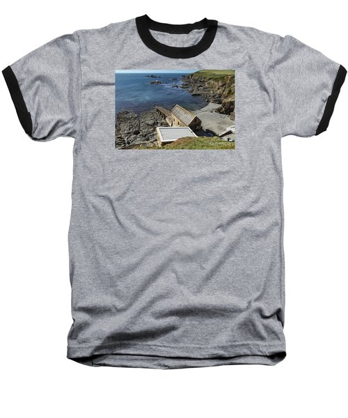 Baseball T-Shirt featuring the photograph Old Lifeboat Station by Brian Roscorla