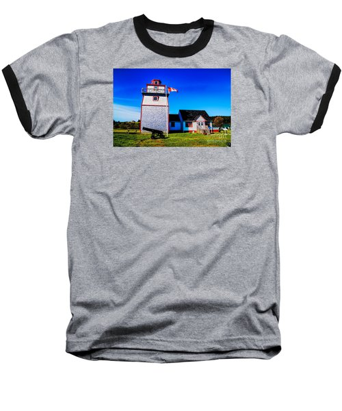 Baseball T-Shirt featuring the photograph Old Lighthouse by Rick Bragan