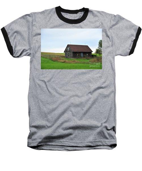 Old Log Cabin Baseball T-Shirt