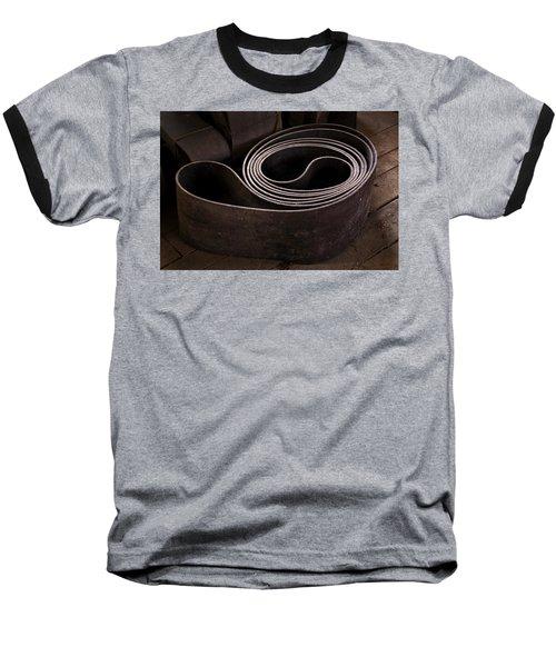 Old Machine Belt Baseball T-Shirt