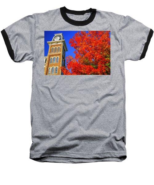 Old Main Maple Baseball T-Shirt by Damon Shaw