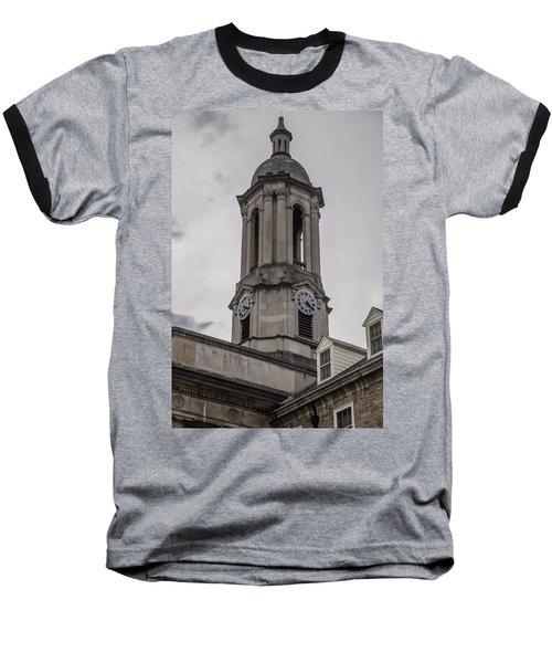 Old Main Penn State Clock  Baseball T-Shirt