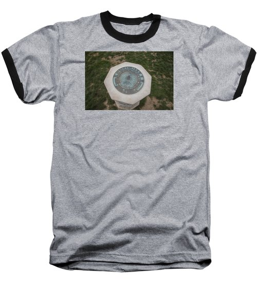 Old Main Statue  Baseball T-Shirt by John McGraw