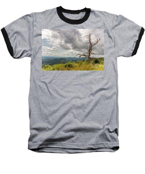 Old Man On The Mountian Baseball T-Shirt