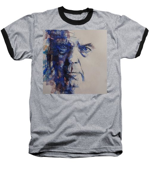 Old Man - Neil Young  Baseball T-Shirt