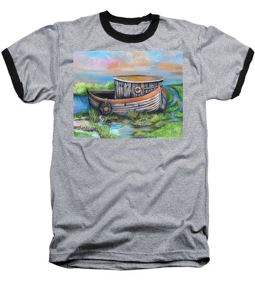 Old Mans Boat Baseball T-Shirt