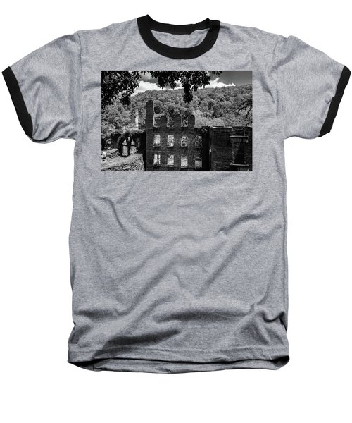 old Mill 3 Baseball T-Shirt
