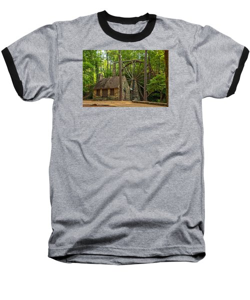 Old Mill At Berry College Baseball T-Shirt