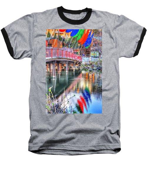 Old Mill Foot Bridge 481 Baseball T-Shirt
