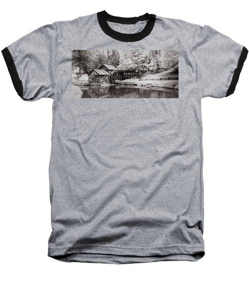 Baseball T-Shirt featuring the photograph Old Mill On The Mountain by James Woody