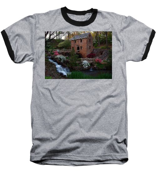 Baseball T-Shirt featuring the photograph Old Mill by Renee Hardison