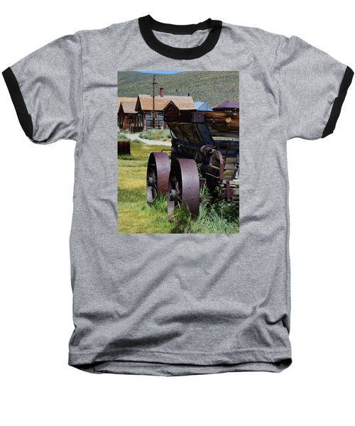 Old Mine Cart Baseball T-Shirt