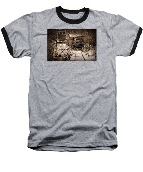 Baseball T-Shirt featuring the photograph Old Mining Tracks by Kirt Tisdale