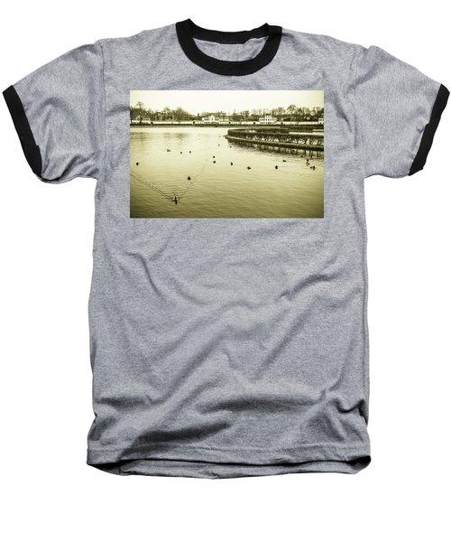 Old Munich Baseball T-Shirt by Sergey Simanovsky