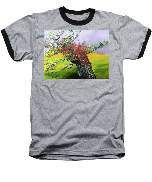 Old Nantucket Tree Baseball T-Shirt