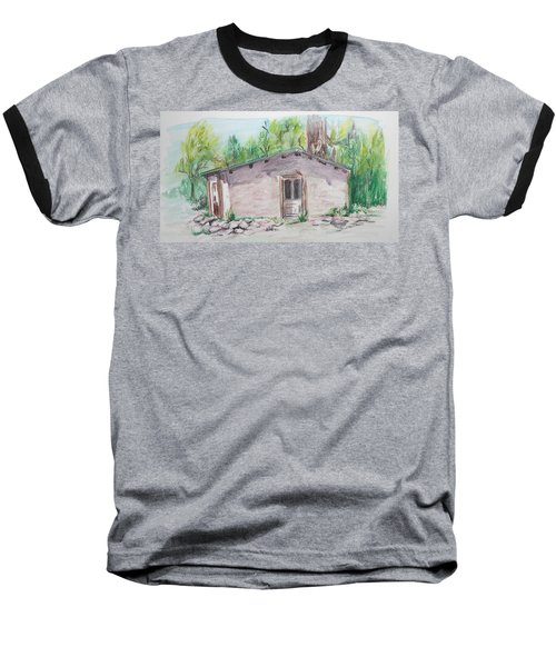 Old New Mexico House Baseball T-Shirt
