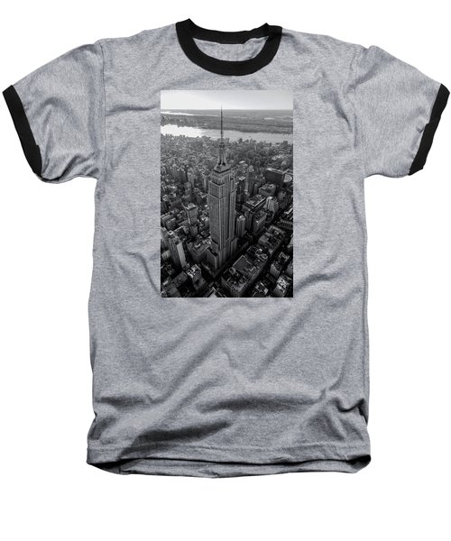 Old New New York  Baseball T-Shirt by Anthony Fields