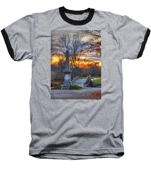 Old North Bridge - Concord Ma Baseball T-Shirt