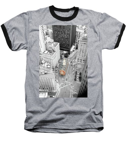 Baseball T-Shirt featuring the photograph Old State House by Greg Fortier