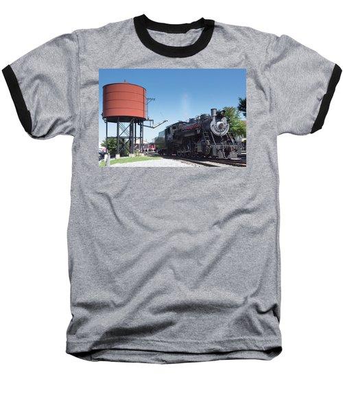 Old Number 90 Steam Engine Baseball T-Shirt