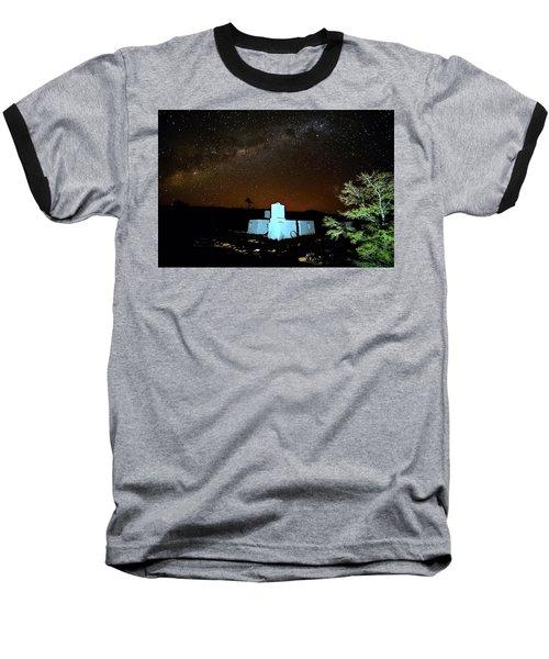 Old Owen Springs Homestead Baseball T-Shirt by Paul Svensen
