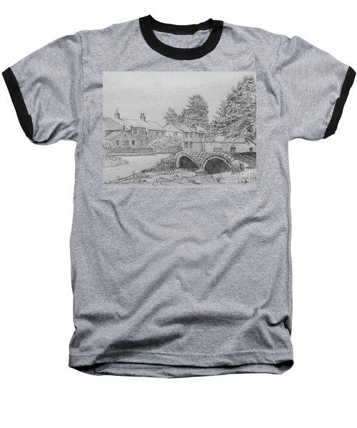 Old Packhorse Bridge Wycoller Baseball T-Shirt