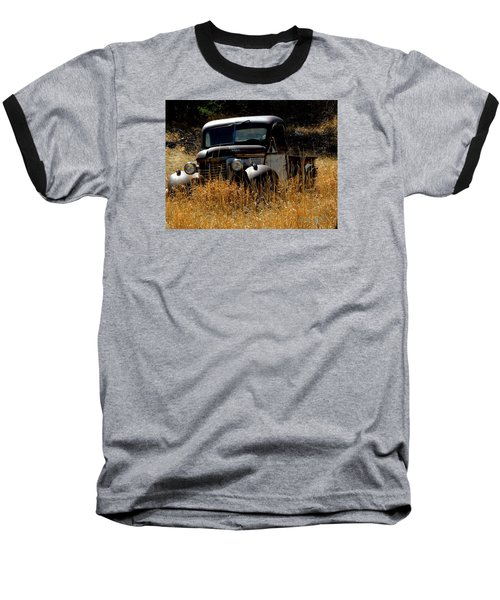 Old Pickup Truck Baseball T-Shirt