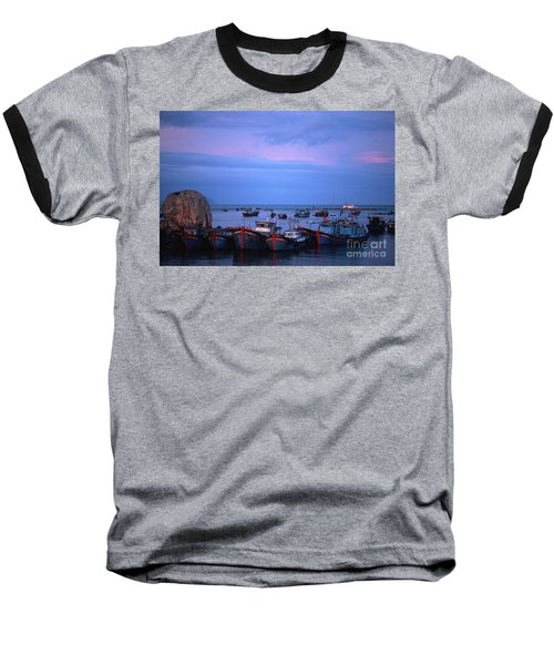 Old Port Of Nha Trang In Vietnam Baseball T-Shirt