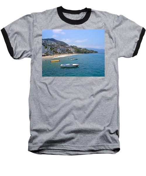 Old Puerto Vallarta  Baseball T-Shirt