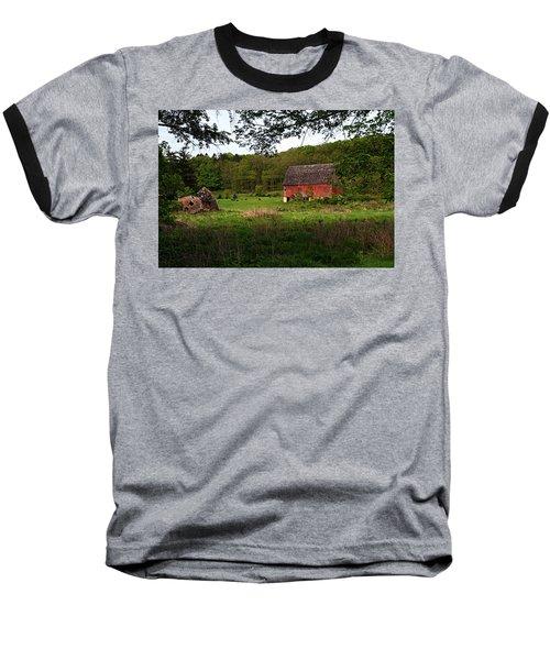 Old Red Barn 2 Baseball T-Shirt